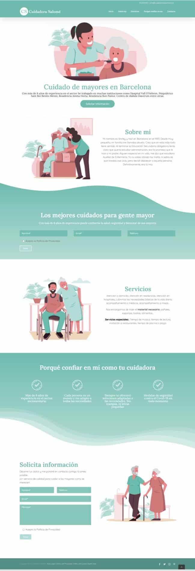 web de una sola página